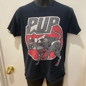 PUP the band Robodog shirt